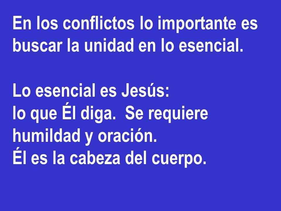 Hemos decidido, el Espíritu Santo y nosotros, no imponerles más cargas que las indispensables. Se decidió NO circuncidar.