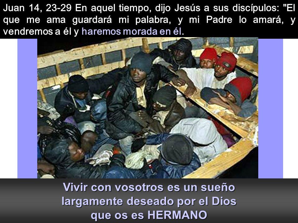 Al final del tiempo Pascual, con la fuerza del Resucitado, ¿DEJAREMOS QUE DIOS HAGA MORADA EN NOSOTROS?