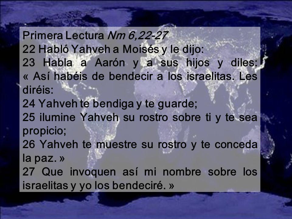 SANTA MARÍA, MADRE DE DIOS 2008 SANTA MARÍA, MADRE DE DIOS 2008 La música es: Hodie Christus natus est