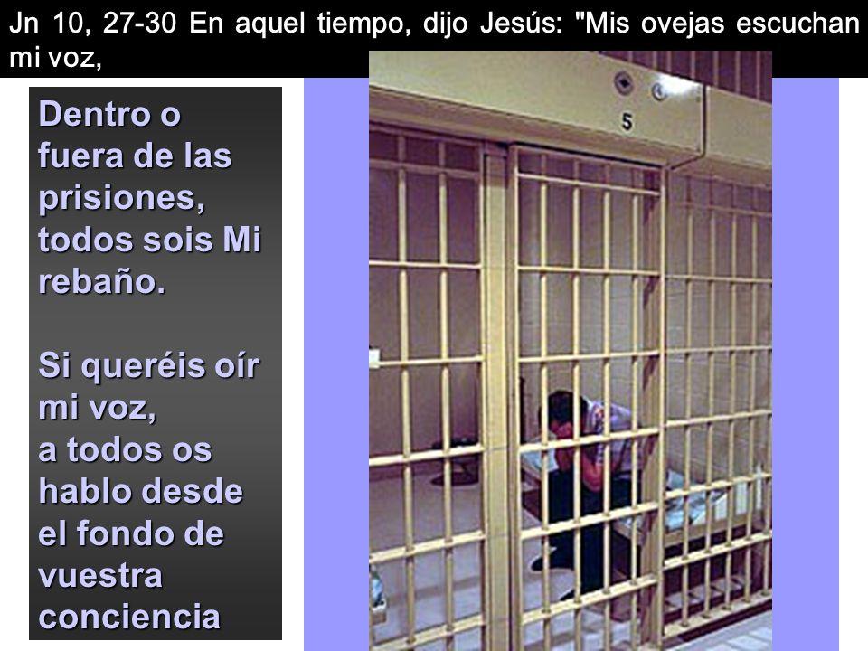 En este pps veremos Jesús Pastor de todas las ovejas, también de aquellas que viven encerradas entre rejas. PARA JESÚS NO HAY DIFERENCIAS