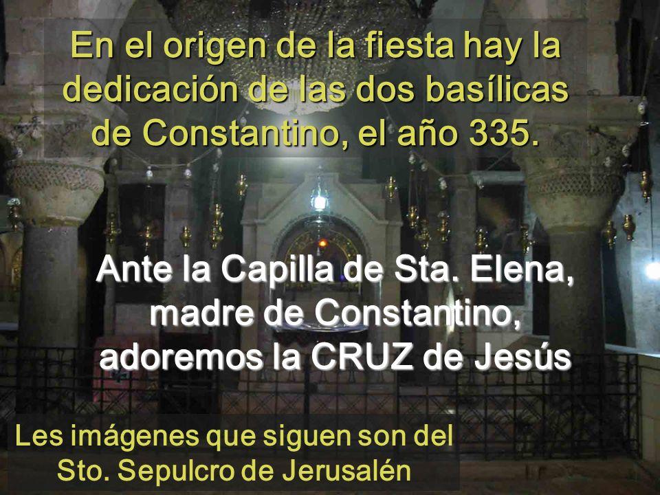 Digamos Estaré a tu lado (540) escuchando la Pasión según Marcos de Bach Monjas de Sant Benet de Montserrat Monasterio de la Santa Cruz de monjes ortodoxos (Jerusalén)