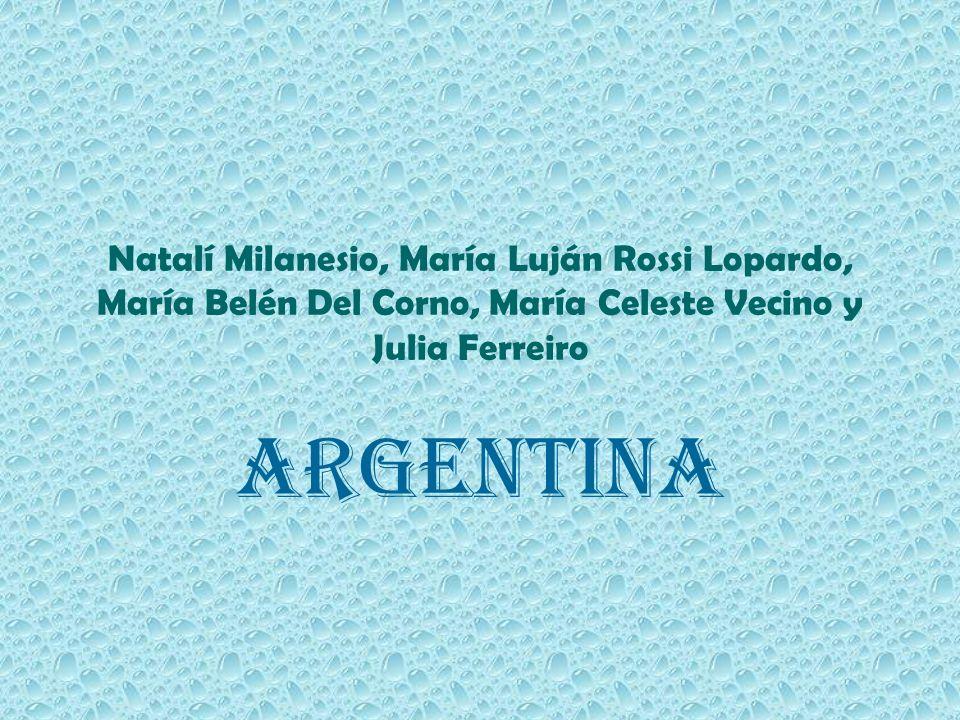 Natalí Milanesio, María Luján Rossi Lopardo, María Belén Del Corno, María Celeste Vecino y Julia Ferreiro Argentina