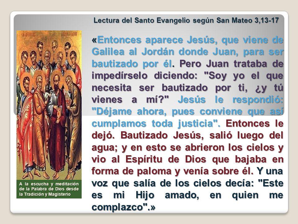 En el domingo pasado celebrábamos la epifanía de Jesús a todos los pueblos, es decir, la presentación de la vida del Niño Jesús a todas las gentes.