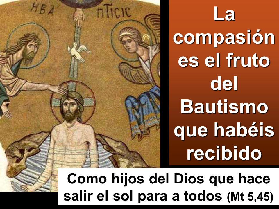 bautizándolos en el nombre del Padre y del Hijo y del Espíritu Santo;