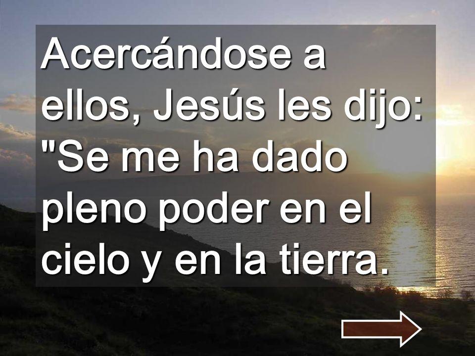 No podéis servir dos señores: Dios y el dinero (Mt 6,24) No dudéis de MI, ADORAD al Dios-SERVIDOR que tenéis cerca