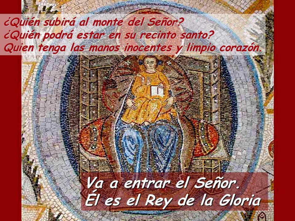 Salmo 23 Del Señor es la tierra y cuanto la llena, el mundo y todos sus habitantes, pues él la asentó sobre los mares, él la fundó sobre los ríos.