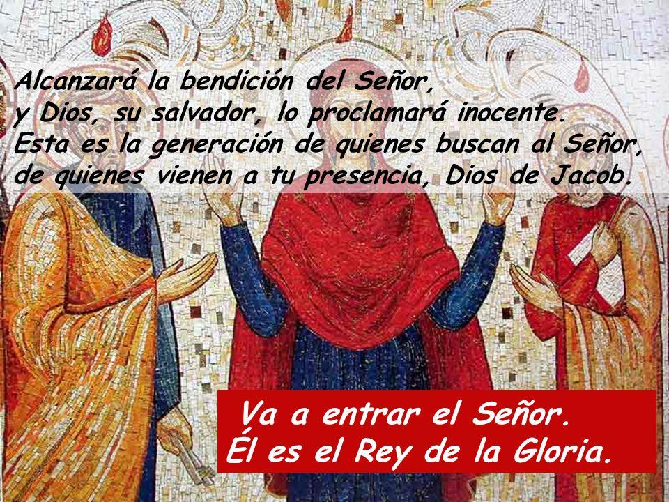 ¿Quién subirá al monte del Señor.¿Quién podrá estar en su recinto santo.