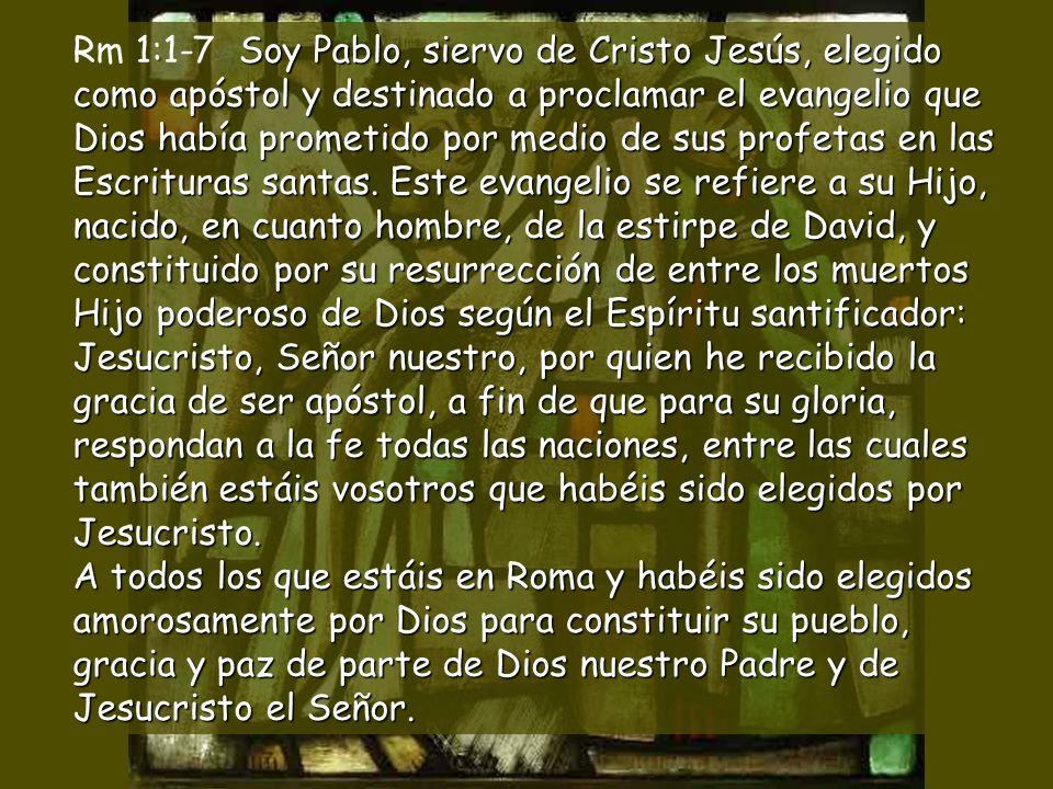Alcanzará la bendición del Señor, y Dios, su salvador, lo proclamará inocente.