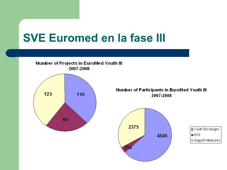 SVE Euromed en la fase III
