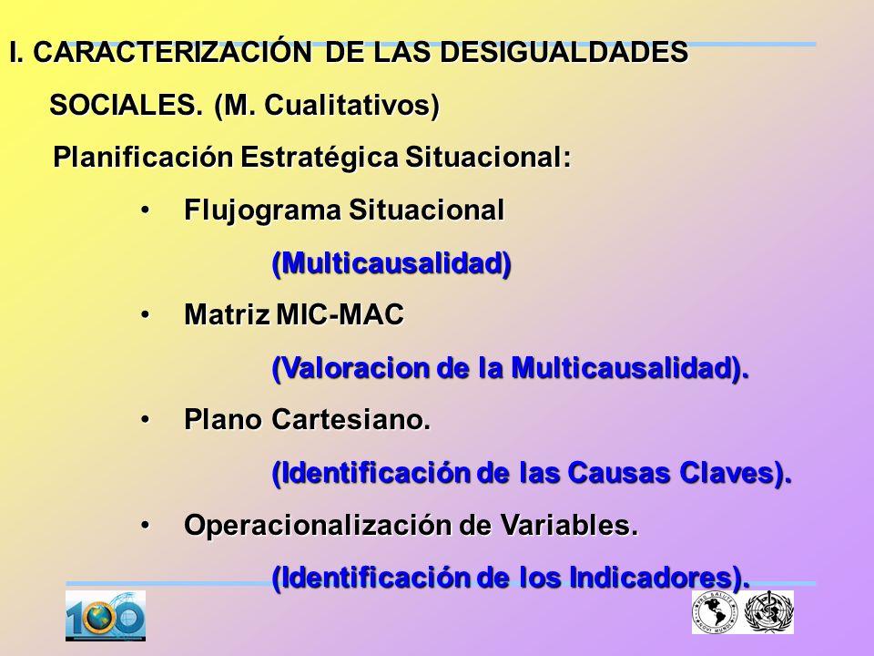 CONSTRUCCIÓN DE LOS TERRITORIOS SOCIALES Selección de un criterio o criterios para la creación de los Territorios o Estratos Sociales