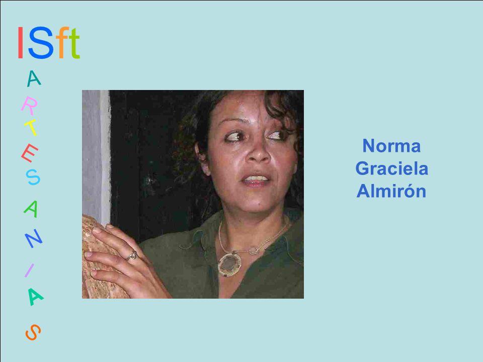 ISftISft A R T E S A N I A S Norma Graciela Almirón