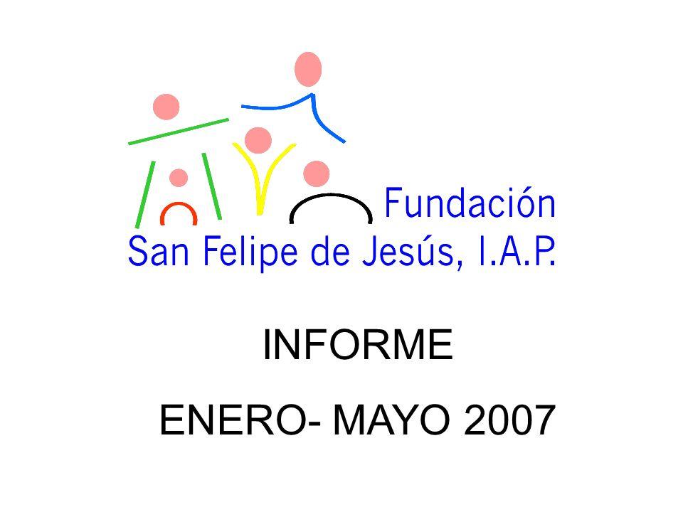 INFORME ENERO- MAYO 2007
