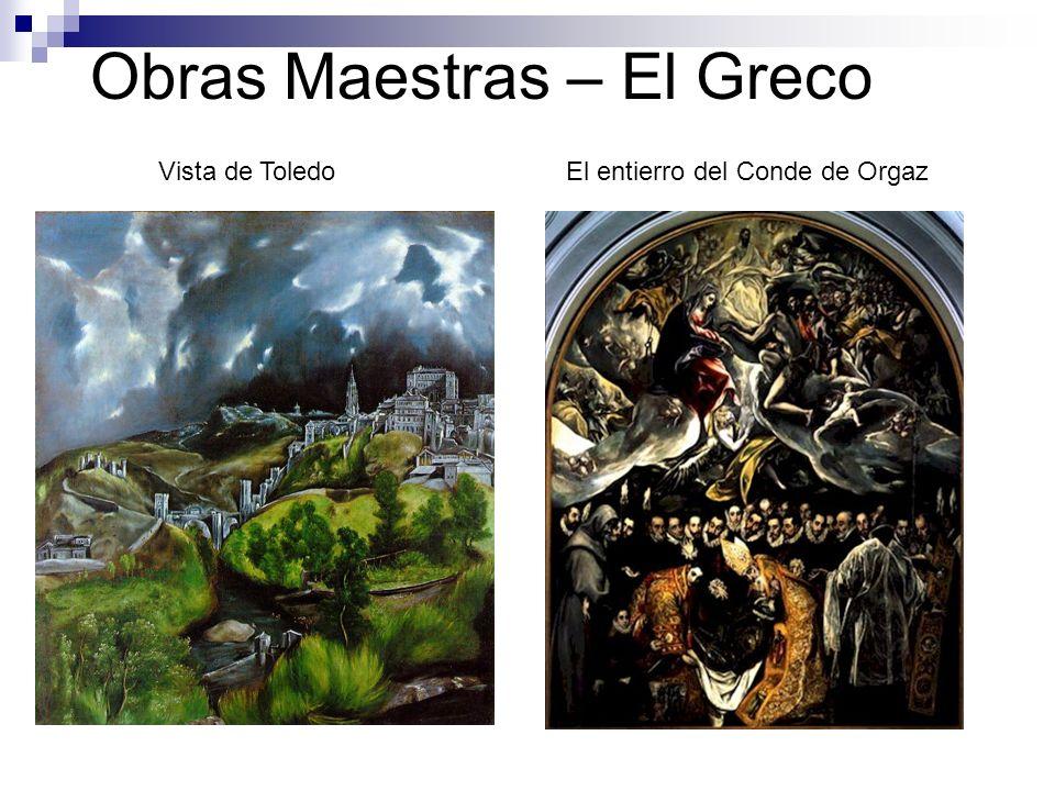 Obras Maestras – El Greco Vista de ToledoEl entierro del Conde de Orgaz