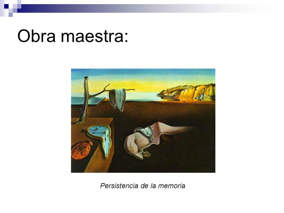 Obra maestra: Persistencia de la memoria