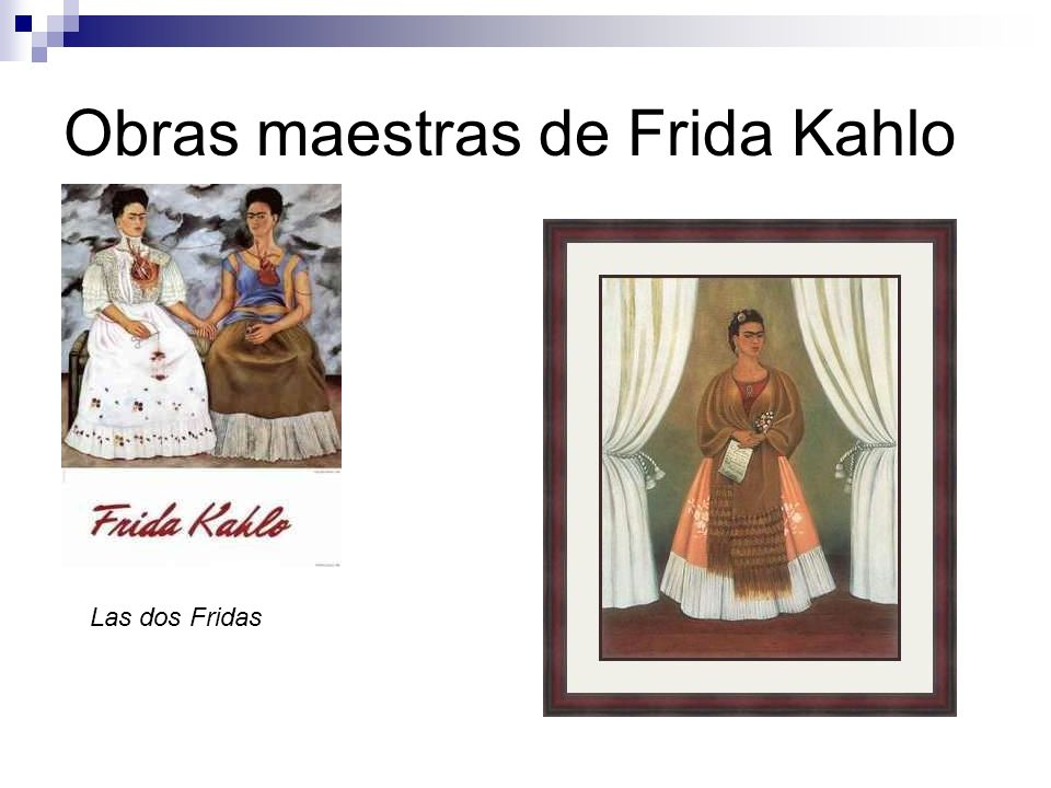 Obras maestras de Frida Kahlo Las dos Fridas