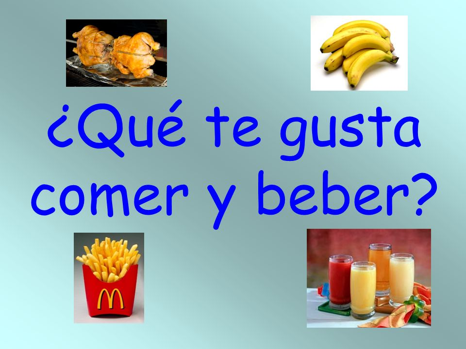 Being hungry and thirsty Tener hambre. – To be hungry. Tener sed. – To be thirsty.