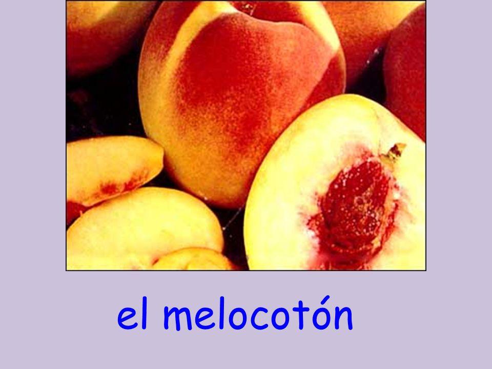 el melocotón
