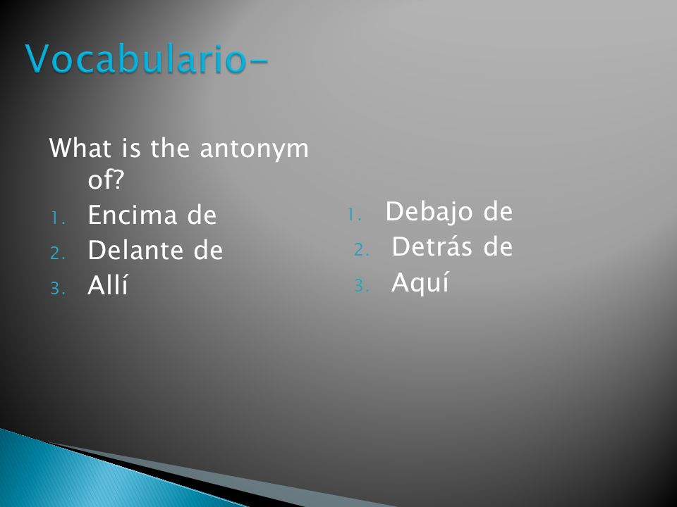 Which word does not belong? Pantalla, teclado, mochila, ratón 1. mochila