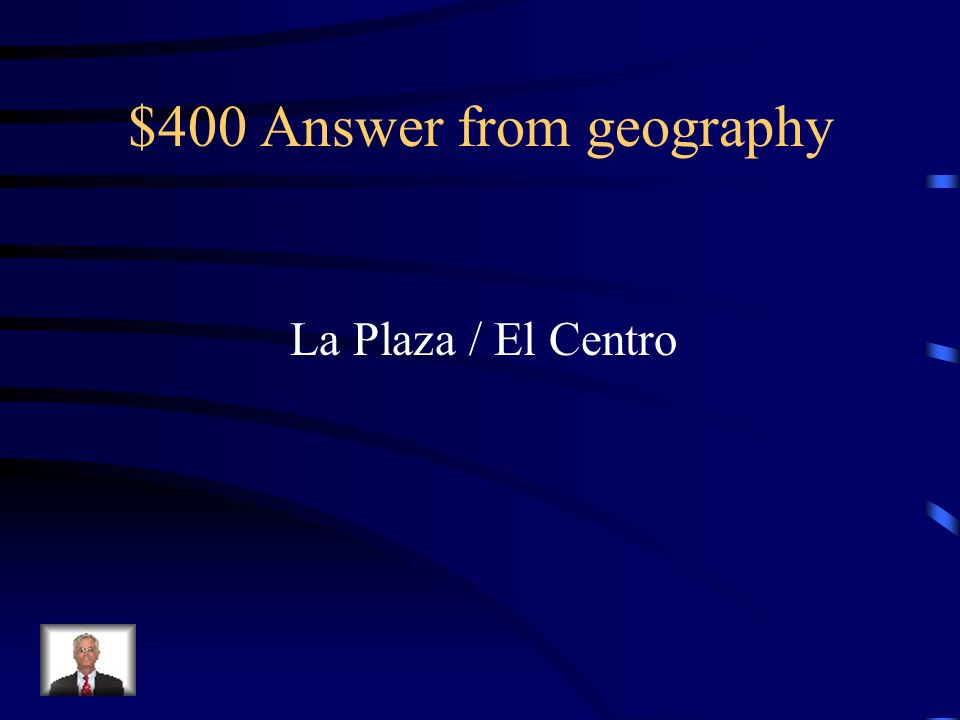 $400 Question from geography
