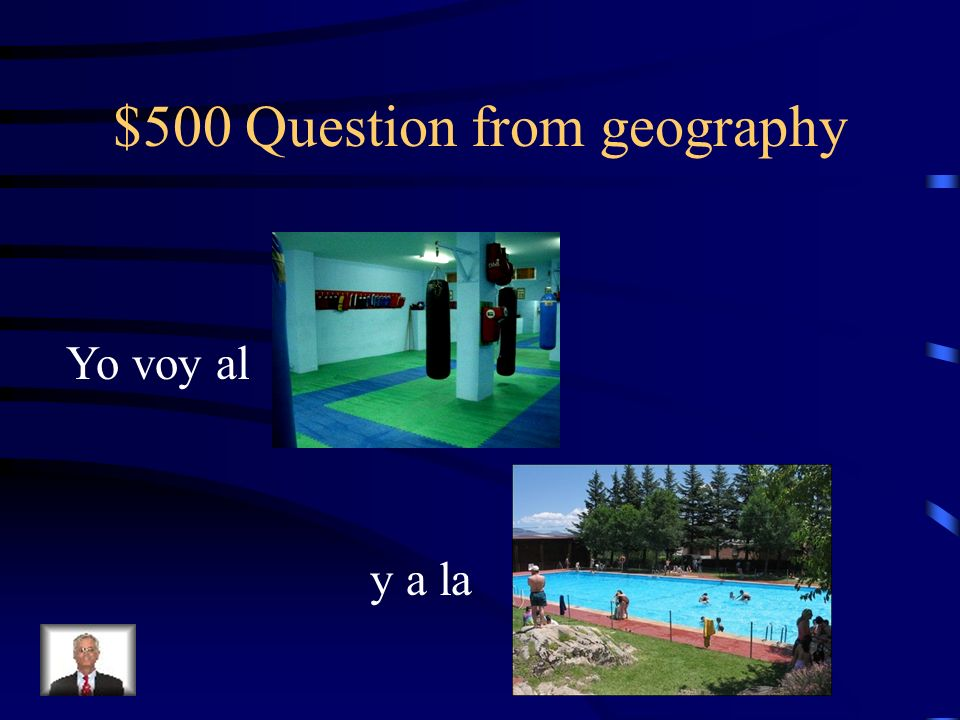 $400 Answer from geography La Plaza / El Centro