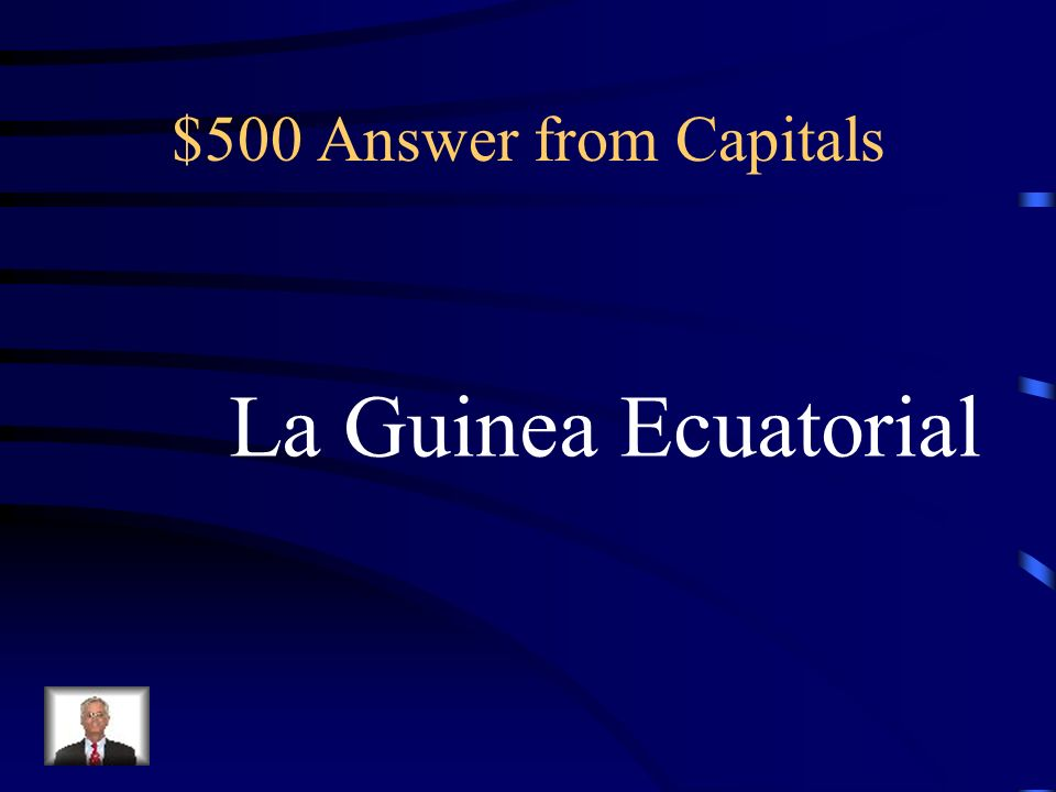 $500 Question from Capitals Malabo