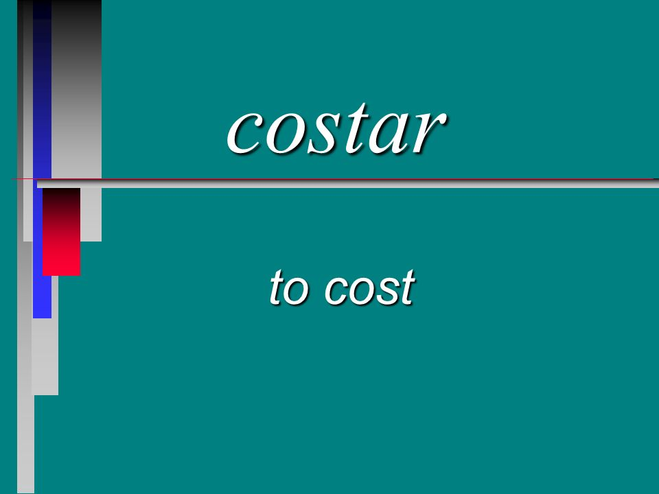 costar to cost
