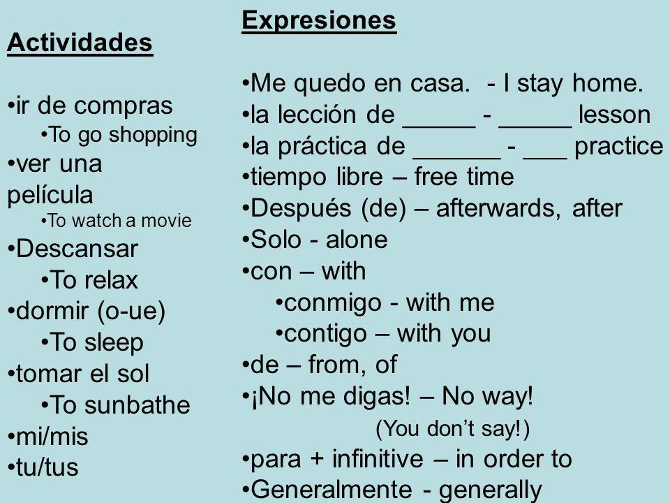 Preguntas ¿De dónde eres.- Where are you from. Soy de….I am from….