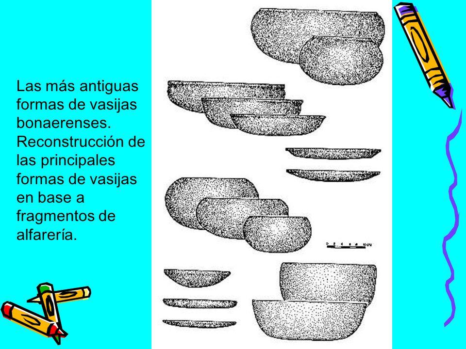 Fragmentos, decoración Ibicueña incisa.