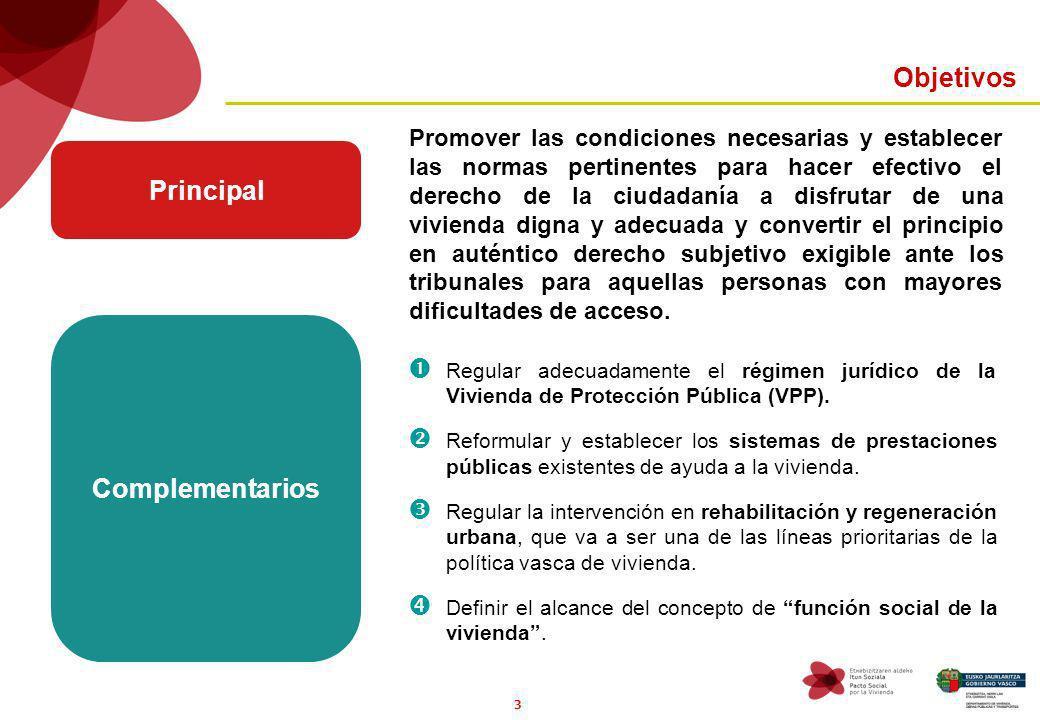 3 Promover las condiciones necesarias y establecer las normas pertinentes para hacer efectivo el derecho de la ciudadanía a disfrutar de una vivienda