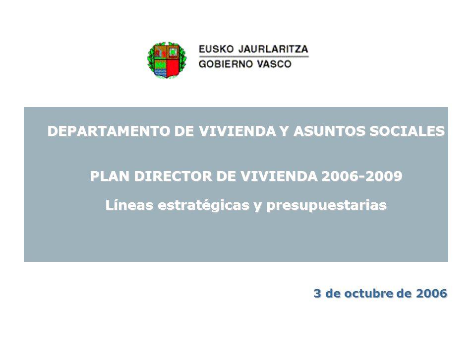 12 EJES ESTRATÉGICOS DEL PLAN DE VIVIENDA Plan Director de Vivienda 2006-2009 Eje 6: Movilización de la vivienda vacía hacia el alquiler protegido.