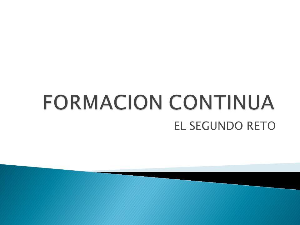 Formación profesional de calidad Colaboración real con las instituciónes Especialización del sector calidad/innovación