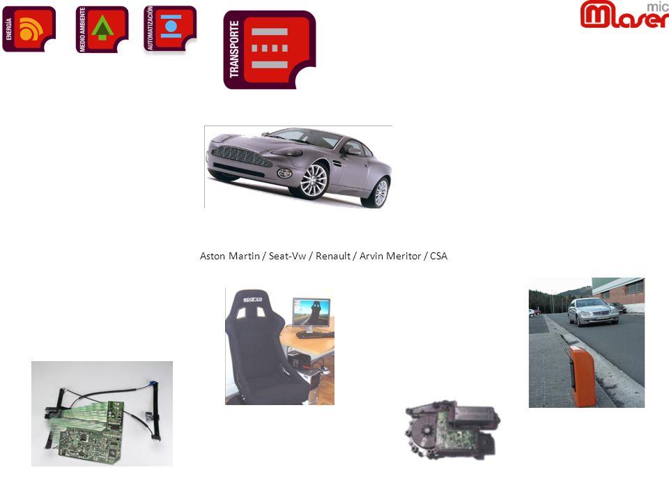 Aston Martin / Seat-Vw / Renault / Arvin Meritor / CSA