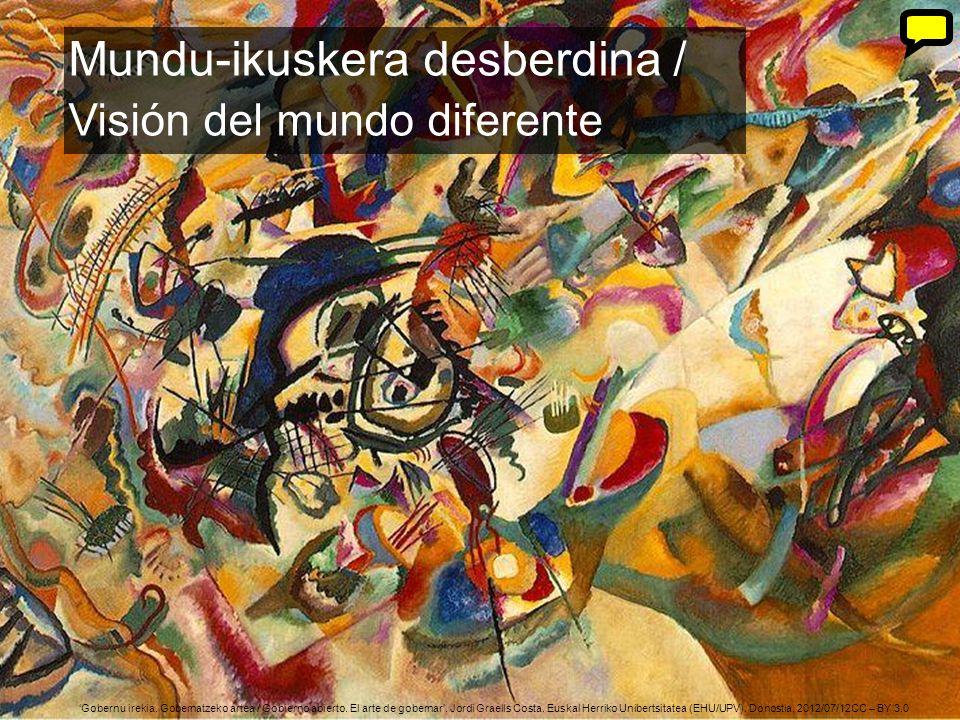 11 Gobernu irekia. Gobernatzeko artea / Gobierno abierto. El arte de gobernar. Jordi Graells Costa. Euskal Herriko Unibertsitatea (EHU/UPV). Donostia,