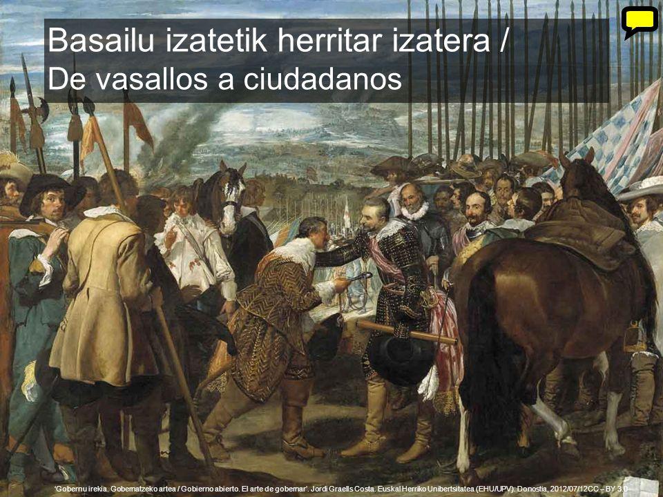 34 Gobernu irekia. Gobernatzeko artea / Gobierno abierto. El arte de gobernar. Jordi Graells Costa. Euskal Herriko Unibertsitatea (EHU/UPV). Donostia,