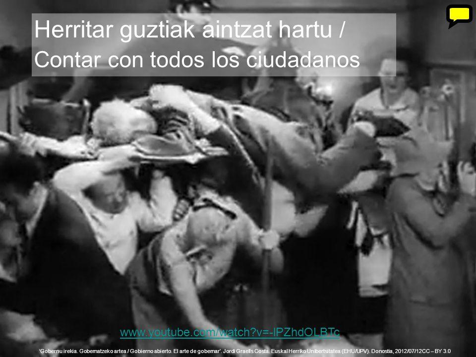 36 Gobernu irekia. Gobernatzeko artea / Gobierno abierto. El arte de gobernar. Jordi Graells Costa. Euskal Herriko Unibertsitatea (EHU/UPV). Donostia,