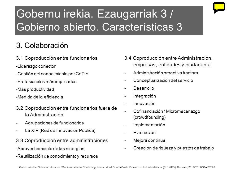 41 Gobernu irekia. Gobernatzeko artea / Gobierno abierto. El arte de gobernar. Jordi Graells Costa. Euskal Herriko Unibertsitatea (EHU/UPV). Donostia,