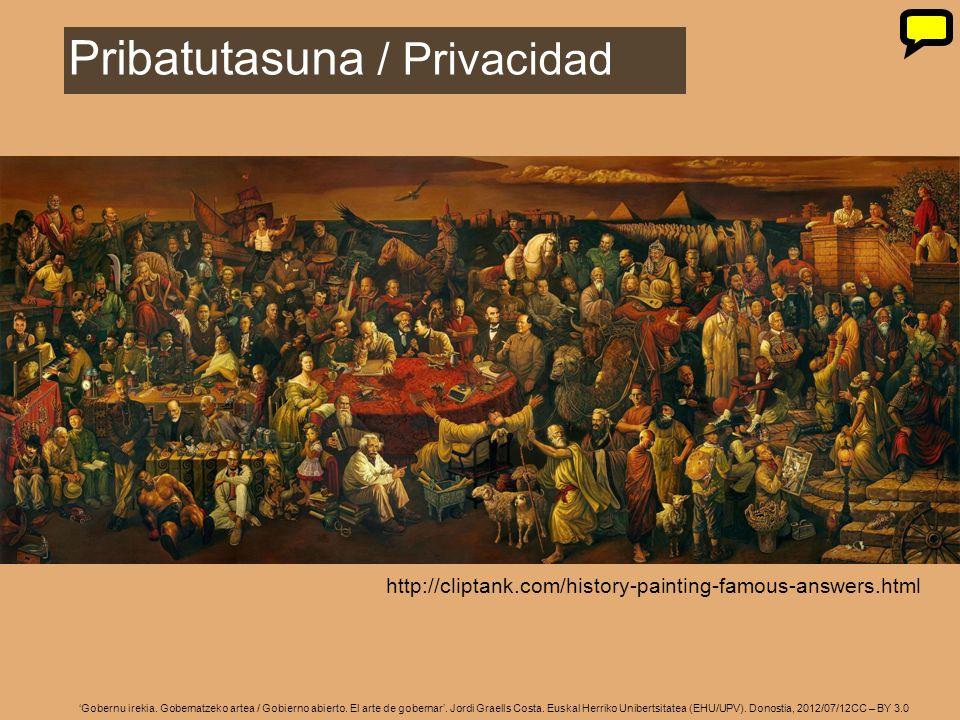 9 Gobernu irekia. Gobernatzeko artea / Gobierno abierto. El arte de gobernar. Jordi Graells Costa. Euskal Herriko Unibertsitatea (EHU/UPV). Donostia,