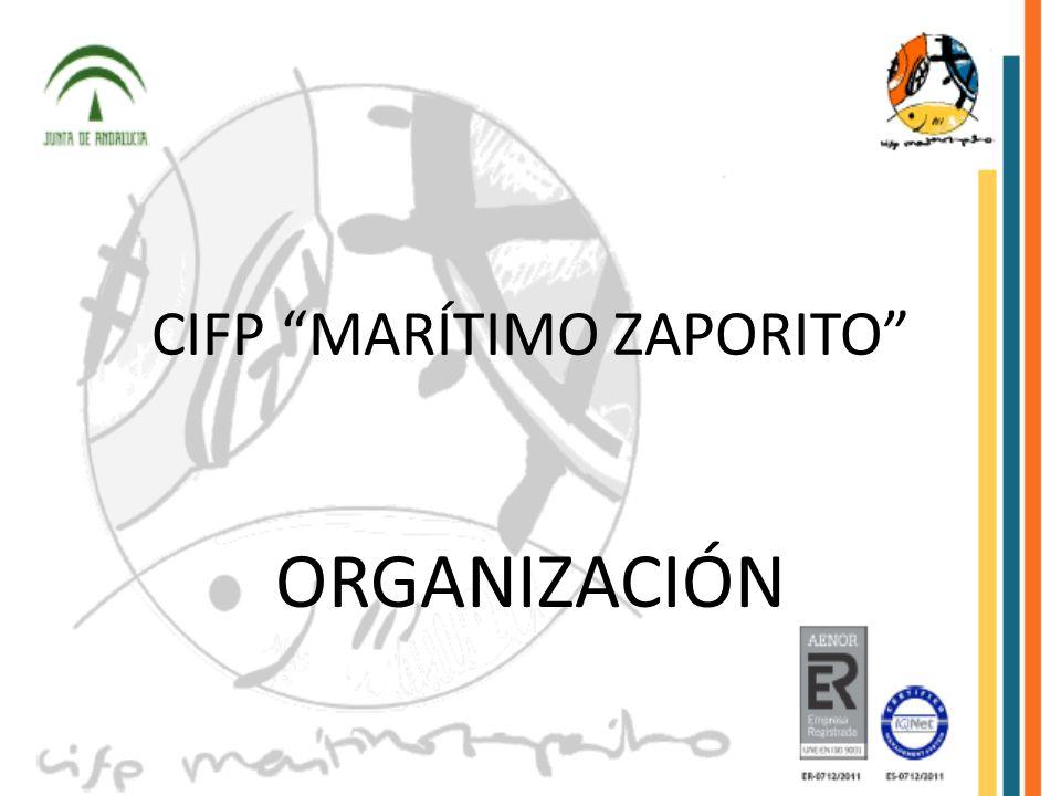 CIFP MARÍTIMO ZAPORITO ORGANIZACIÓN