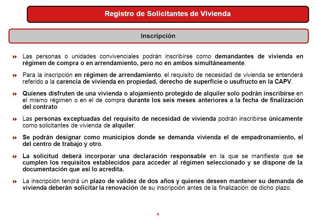 5 Los solicitantes tienen el deber de comunicar cualquier variación sobrevenida de los datos consignados en la solicitud que dio lugar a la inscripción y solicitar su modificación.