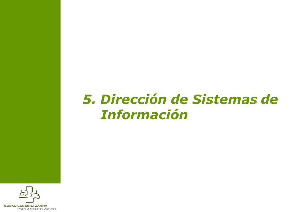 5. Dirección de Sistemas de Información