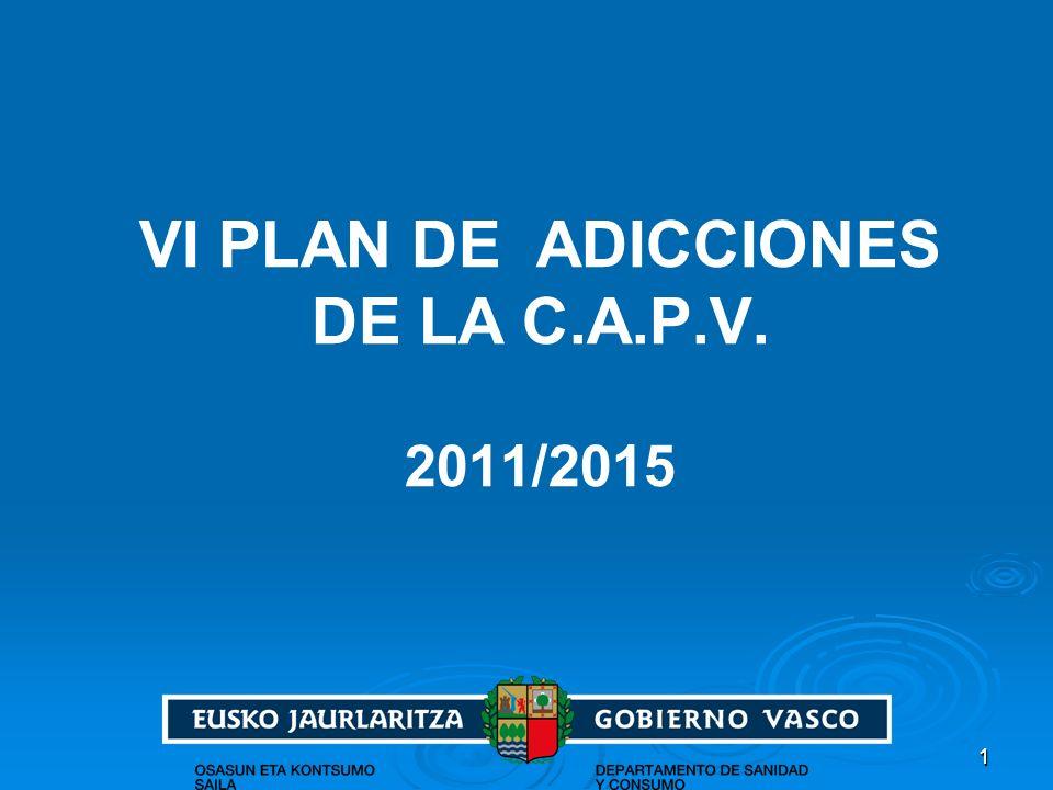 11 VI PLAN DE ADICCIONES DE LA C.A.P.V. 2011/2015
