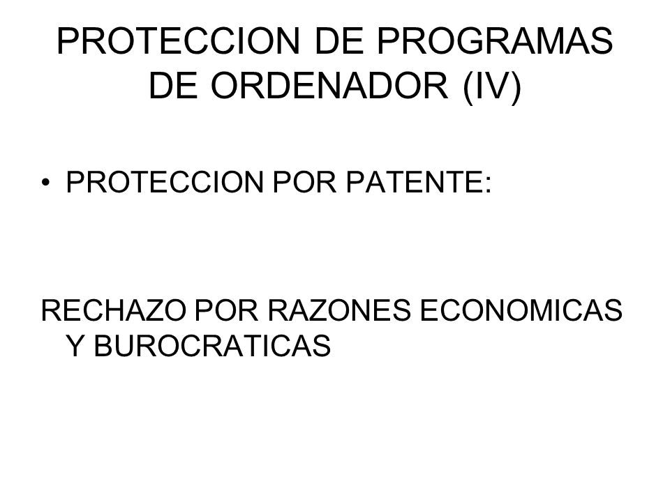 PROTECCION DE BASES DE DATOS (V) PRINCIPAL INNOVACION: PROTECCION DE LA INVERSION MEDIANTE UN DERECHO ECONOMICO DERECHO SUI GENERIS RECOGIDO EN LOS ARTS.