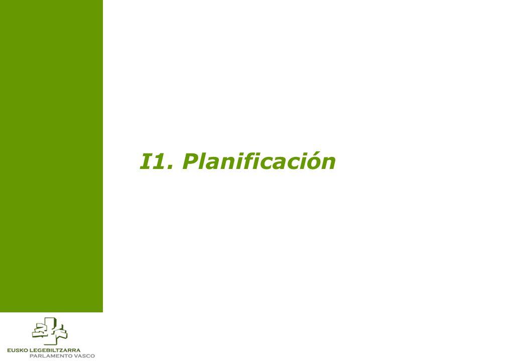 7 Inventario de procesos de Planificación Planificación estratégica El proceso de Gestión de la Planificación engloba aquellas actividades que marcan las actuaciones seguidas por la Administración Parlamentaria, su seguimiento y Evaluación.