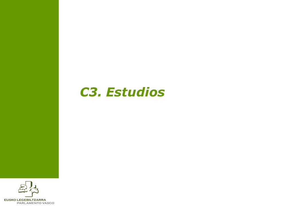 C3. Estudios