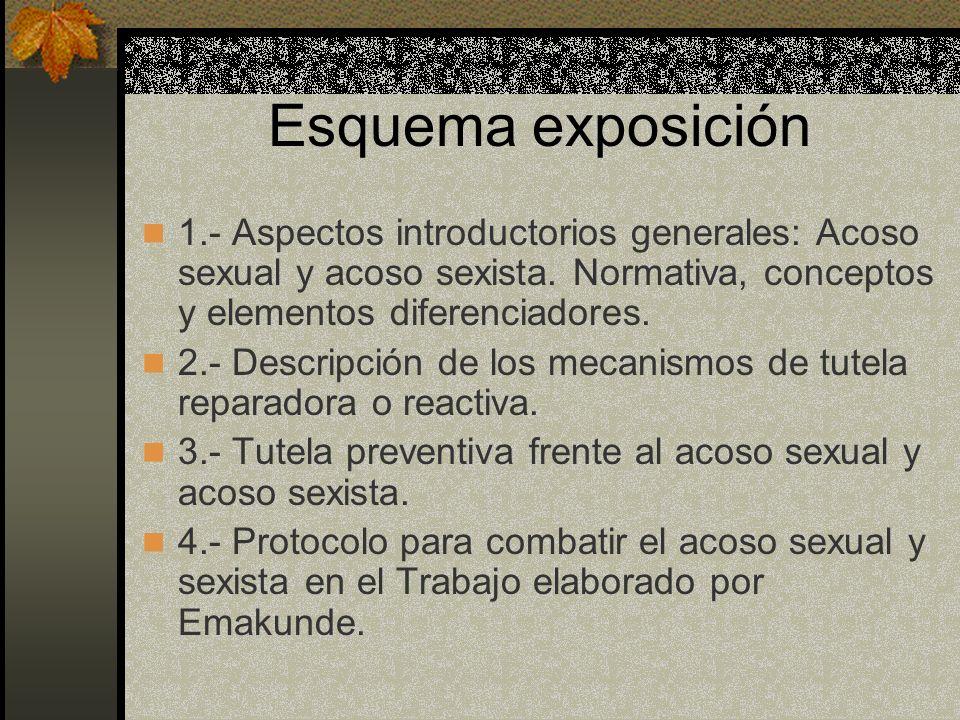 1.- Aspectos introductorios: Consideraciones generales.