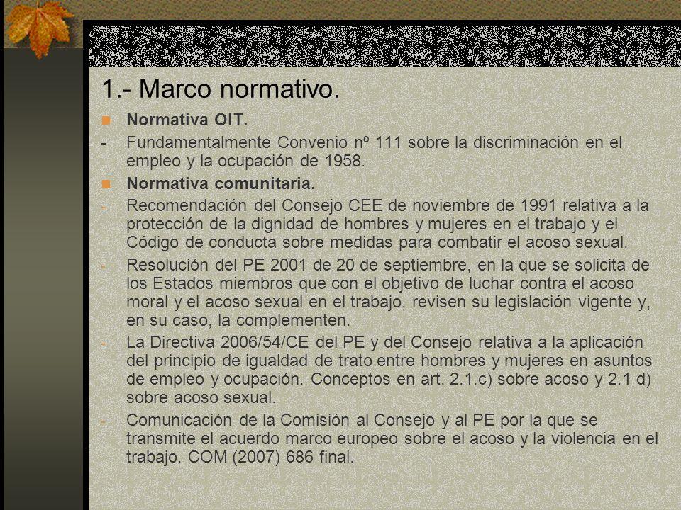 1.- Aspectos introductorios: Marco normativo.Constitución española Art.