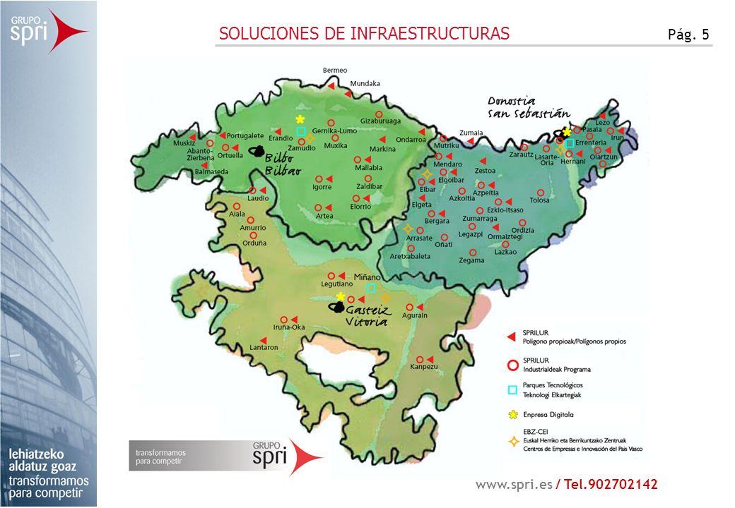 SOLUCIONES DE INFRAESTRUCTURAS Pág. 5 www.spri.es / Tel.902702142