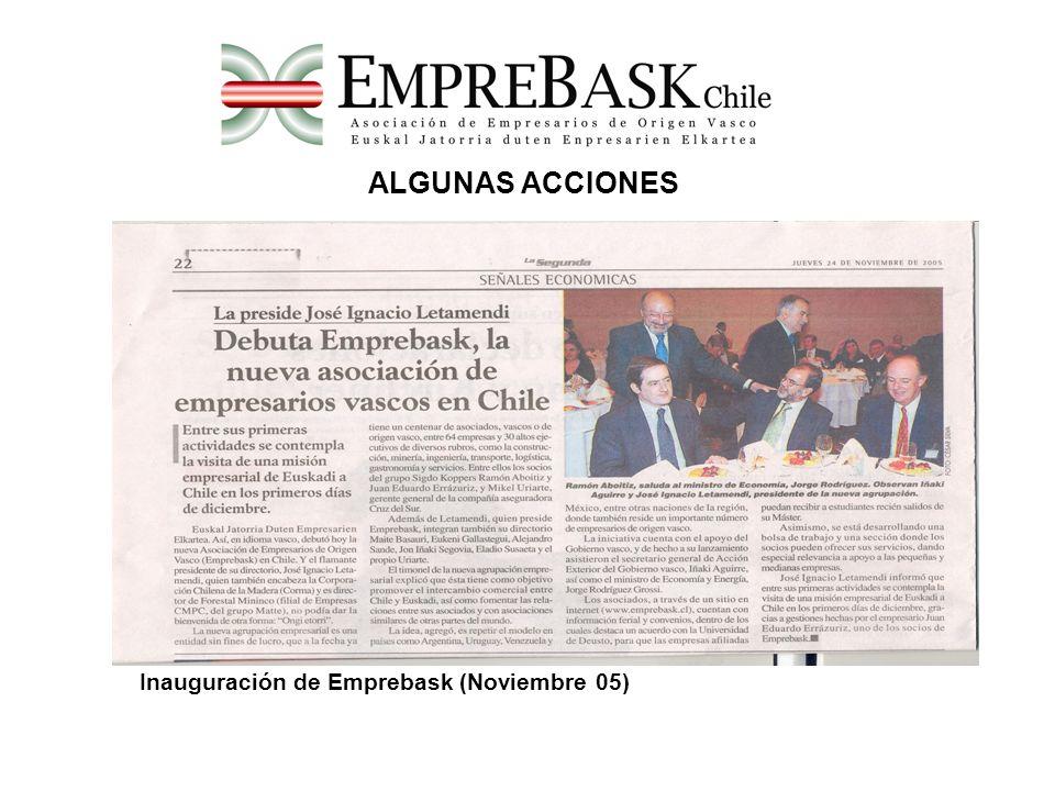 Misión Empresarial de Euskadi 2005