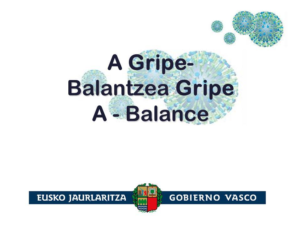 Balantzea Balance A Gripe- Balantzea Gripe A - Balance