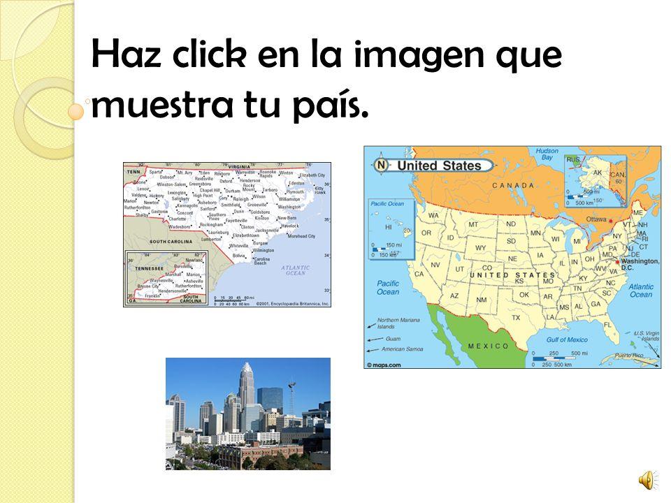 Haz click en la imagen que muestra tu país.